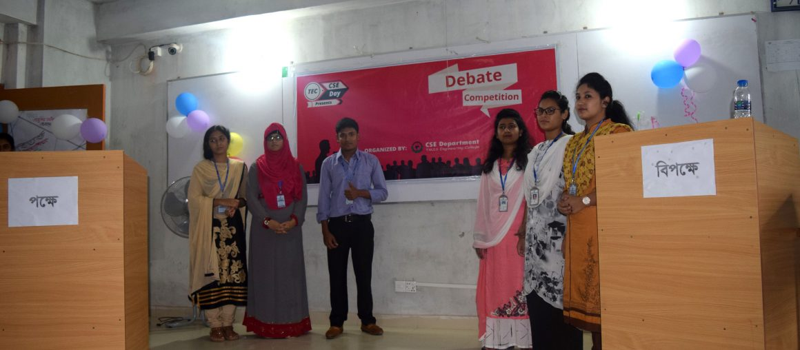 Debate Competition in TEC